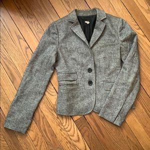 J. Crew grey wool blazer